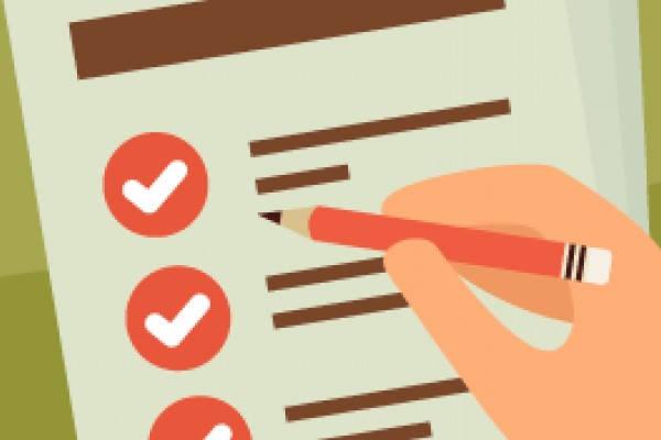 Certificado de Depósito checklist