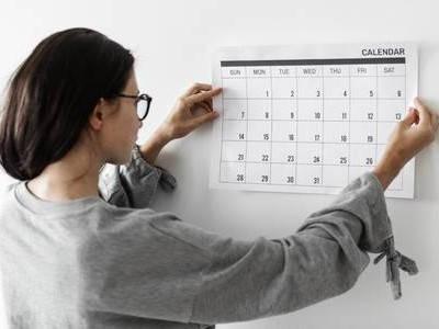 Certificado de nacimiento calendario