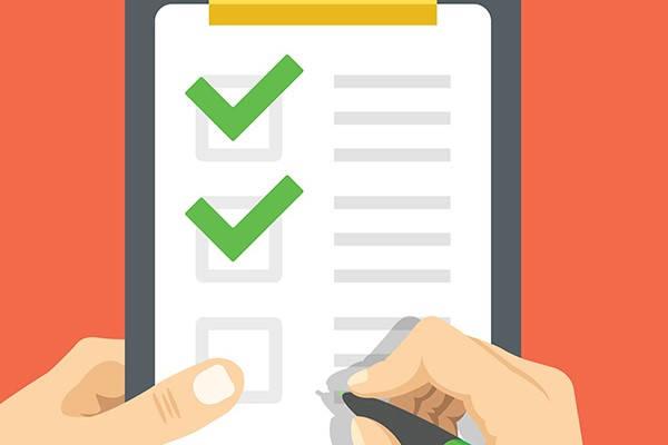 Certificado de nacimiento checklist