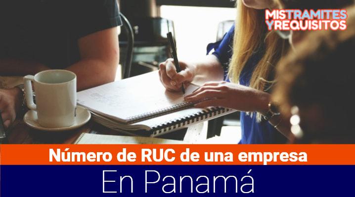 Como saber el número de RUC de una empresa en Panamá