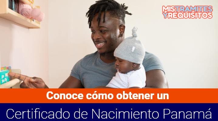 Certificado de Nacimiento Panamá
