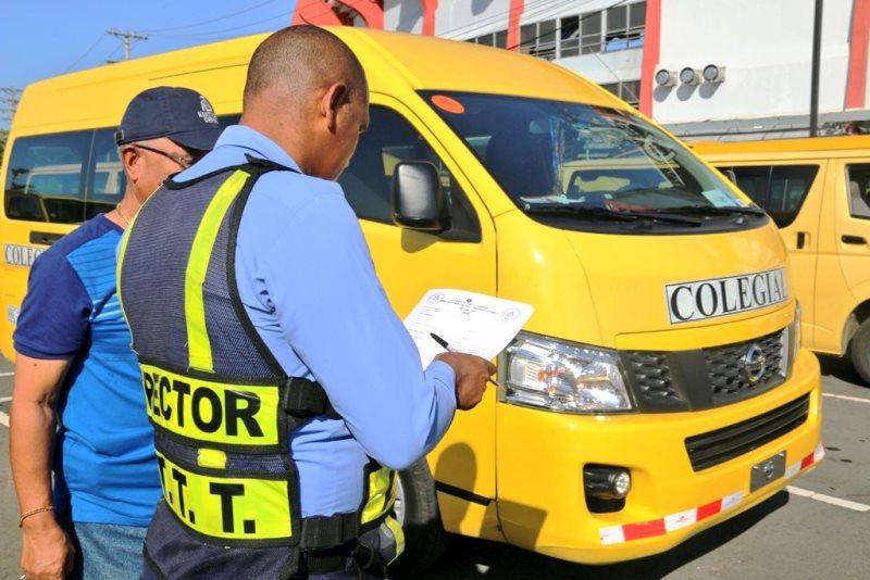 ATTT inicia la inspección de buses colegiales este lunes 26 de ...