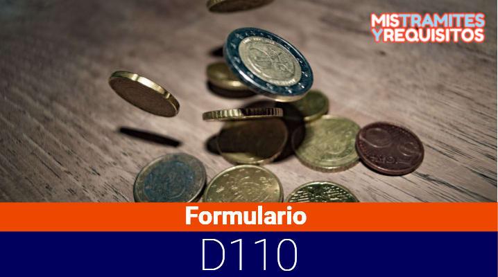 Formulario D110