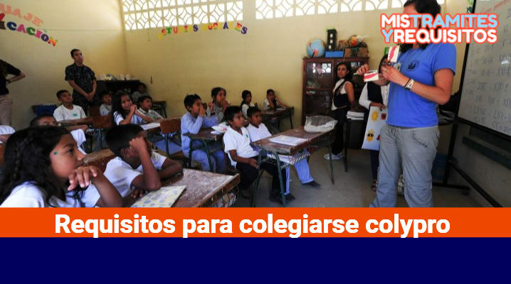 Requisitos para colegiarse colypro