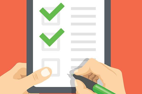 Requisitos para sacar el RISE checklist