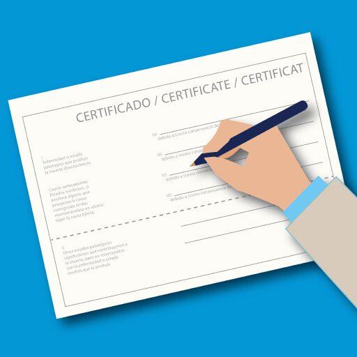 Curso Certificado Defunción - Apps en Google Play