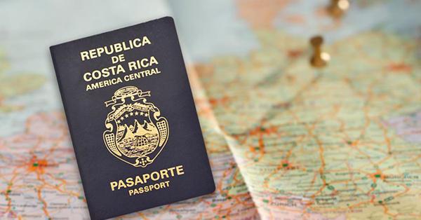 pasaporte costa rica
