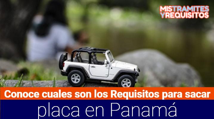 Requisitos para sacar placa Panamá