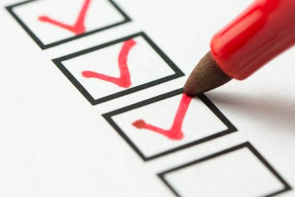 Certificado de Prácticas Pre Profesionales checklist