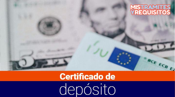 Conoce como solicitar un Certificado de depósito en Ecuador