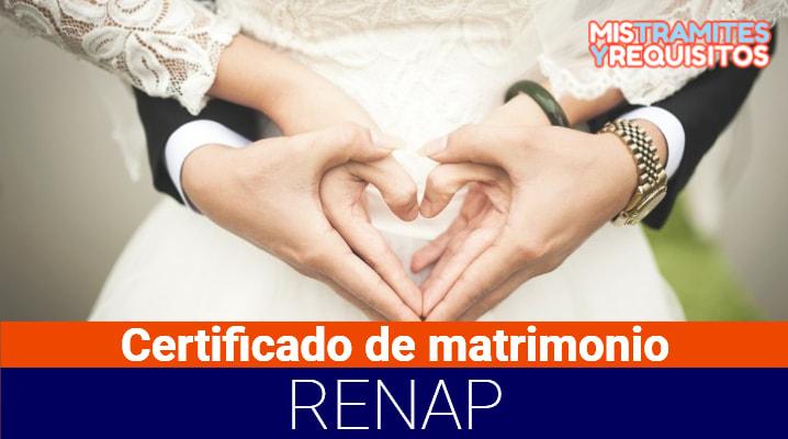 Conoce como solicitar el Certificado de matrimonio RENAP