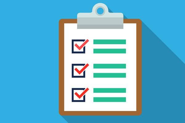 Certificado de ser pensionista checklist