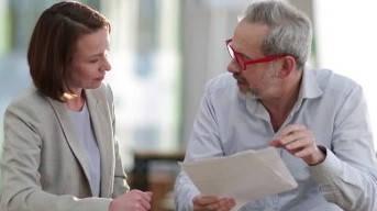 Certificado de ser pensionista hablando