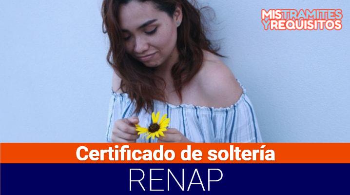 Conoce como obtener el Certificado de Soltería RENAP