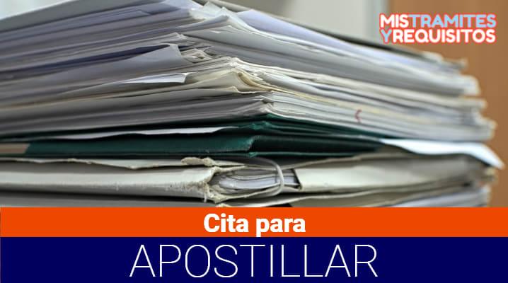 Conoce como obtener cita para apostillar en Guatemala