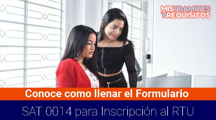 Formulario SAT 0014