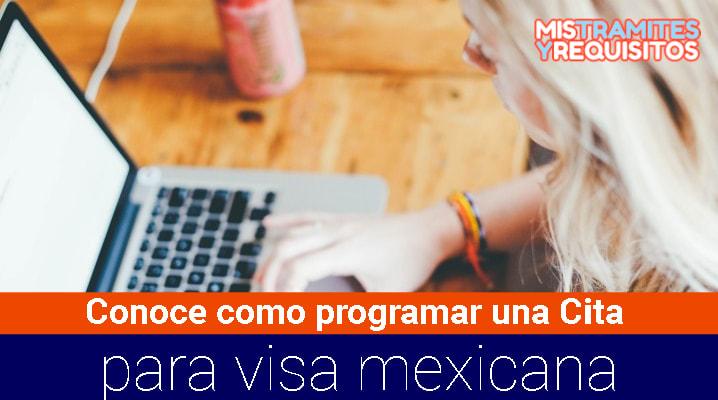 Cita para visa mexicana