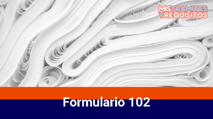 Descubre como declarar el Formulario 102 del SRI