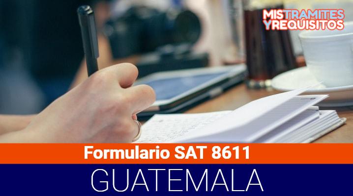 Formulario SAT 8611