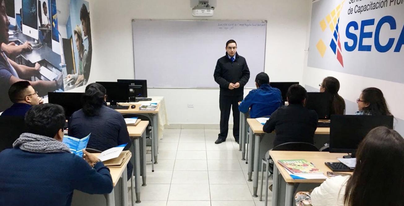 El curso de Contratación Pública para Proveedores del Estado dio inicio en Guaranda | Servicio Ecuatoriano de Capacitación Profesional