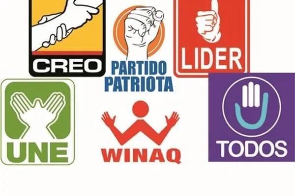 Requisitos para formar un partido político en Guatemala logos partidos