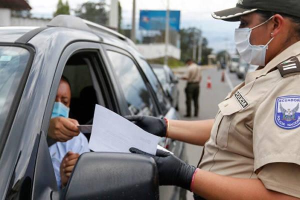 Requisitos para limpiar el record policial Ecuador multa