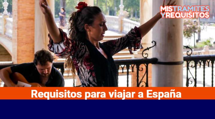 Requisitos para viajar a España