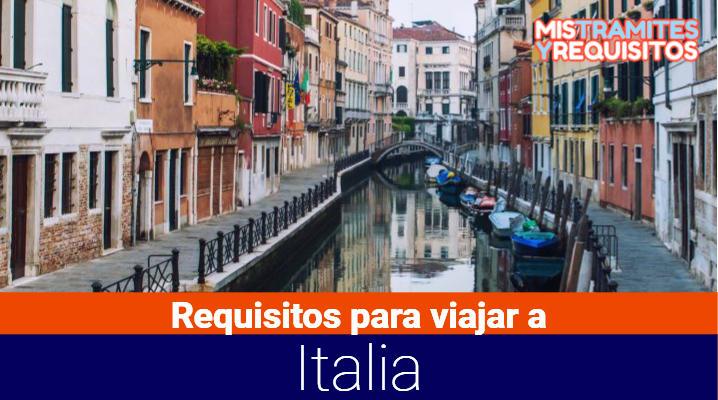 Descubre los Requisitos para viajar a Italia desde El Salvador