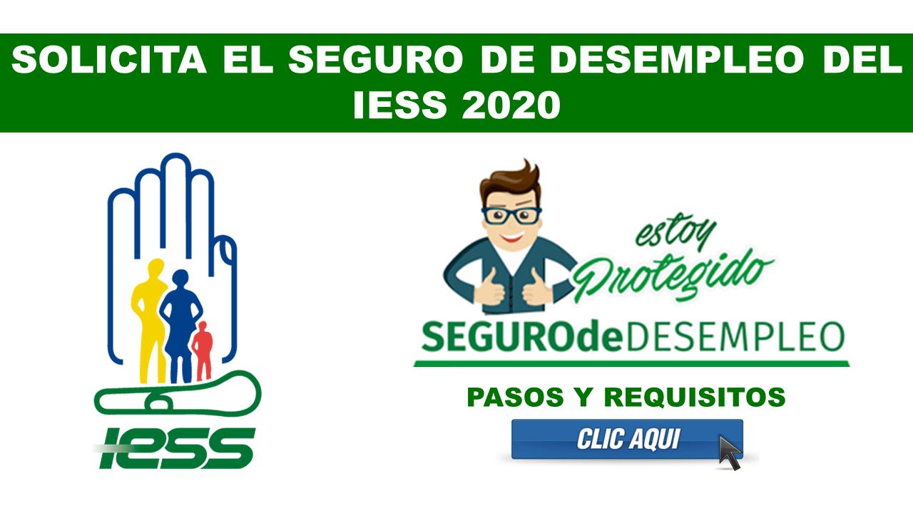✅ Solicitar el Seguro de Desempleo del IESS 【2020】