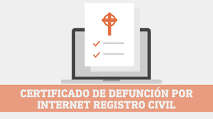 Solicitar Certificado de Defunción por Internet Registro Civil (2020)