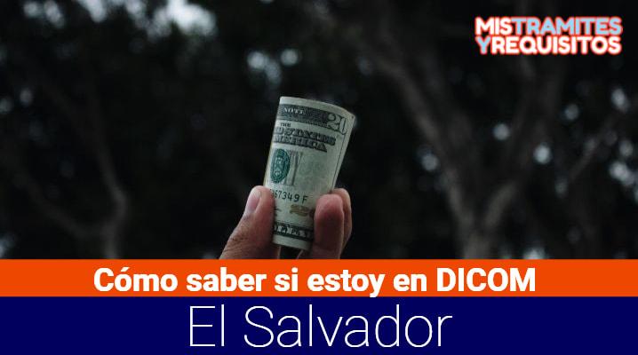Como saber si estoy en DICOM El Salvador