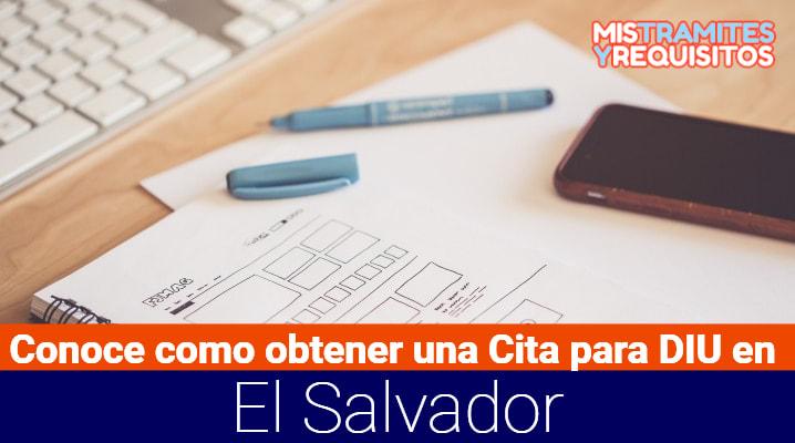 Conoce como obtener una Cita para DUI en El Salvador