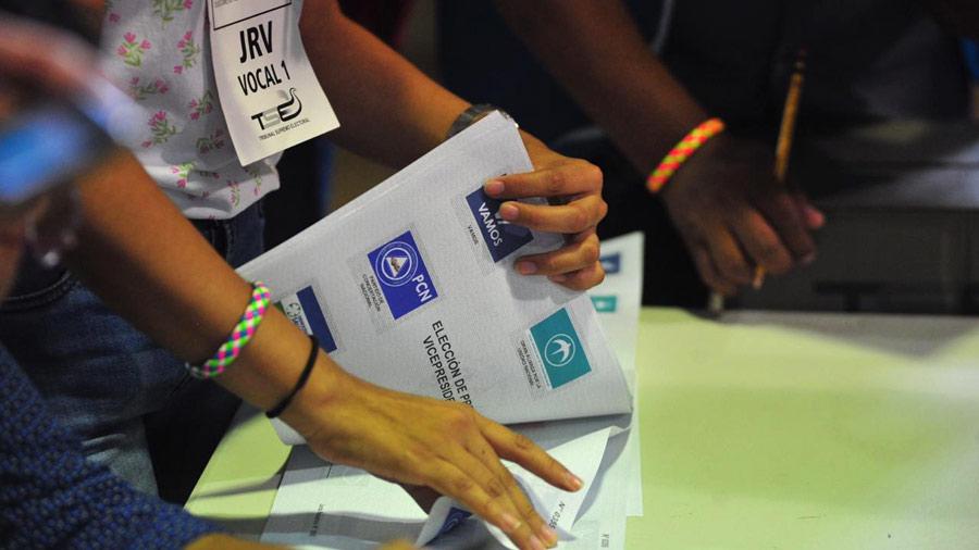 Avanza el conteo de votos en las elecciones presidenciales de El Salvador | elsalvador.com