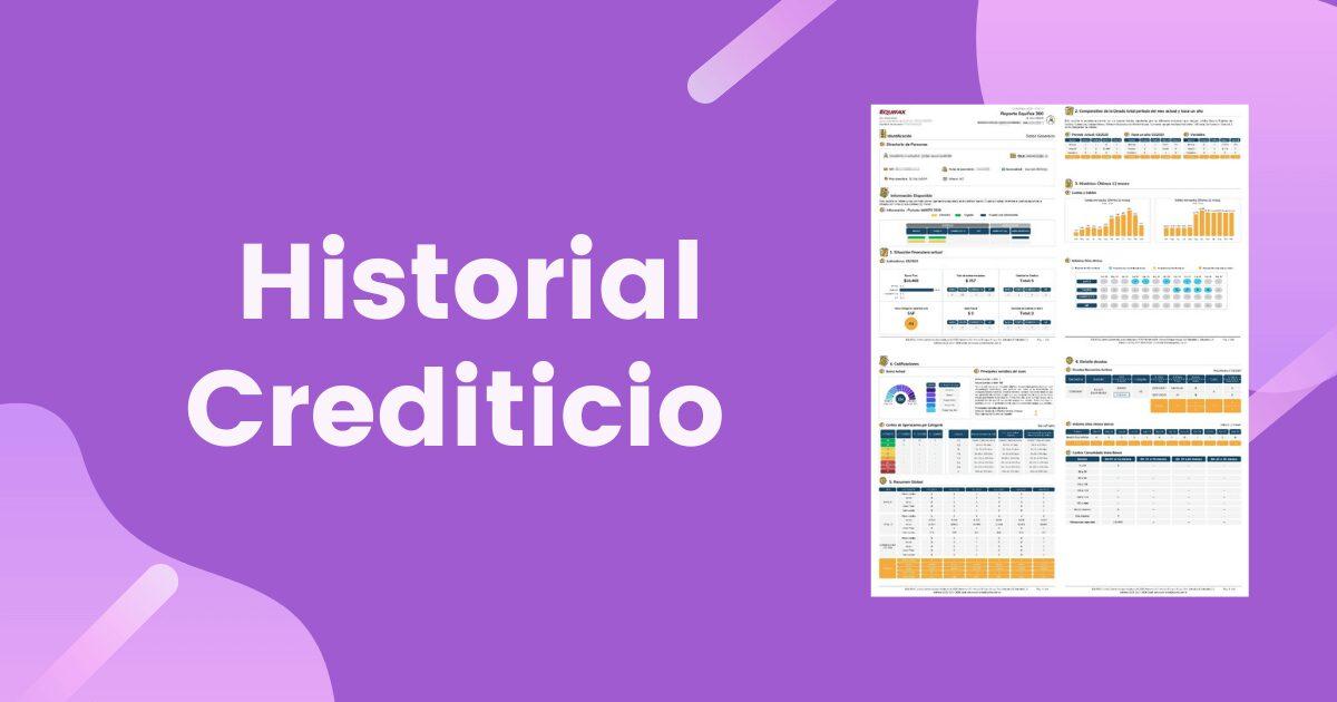 Consulta tu historial crediticio gratis