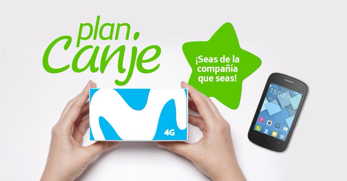 """Movistar Argentina on Twitter: """"🔥No importa de qué compañía seas🔥. ¡Con #PlanCanje cambiá tu celu por uno mucho mejor!… """""""