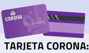 Tarjeta Corona