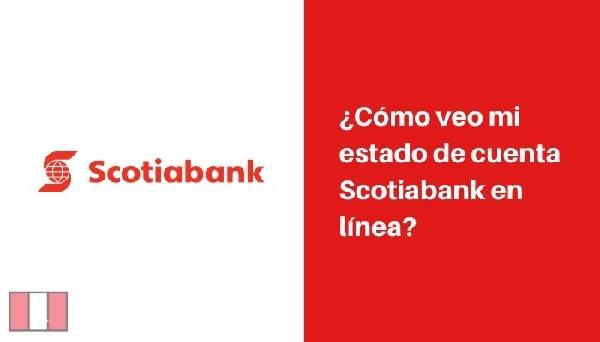 Estado de Cuenta Scotiabank